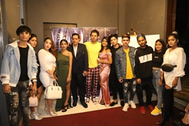 Music Album MERE SAPNO MEI Sung & Acted by Danish Alfaz & Produced By Rakesh Sabharwal Launched At Trumpet Sky Lounge Mumbai  To Be Seen On ZEE MUSIC