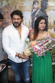 Grand  Muhurat Of Bhojpuri Film TEJASHWINI YADAV IPS With Song Recording In Mumbai