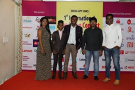 Announcement Of  Social App Stars – App Video Contest And Forthcoming Hindi Film The Rising Stars At Mumbai