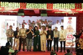 DHANTAAL JIYA Gold Non Alcoholic Beer launched by Miss India SIMRAN AHUJA At Bhuj Kutch