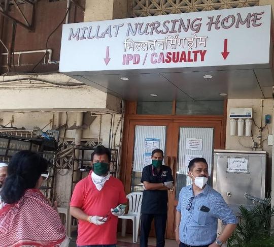With The Efforts Of Shiv Sena Corporator Raju Pednekar – The Dialysis Center Of Milat Hospital Starts