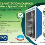 Aries Group Is All Set To Deliver Sanitization Gates To Hinder The Spread Of COVID-19