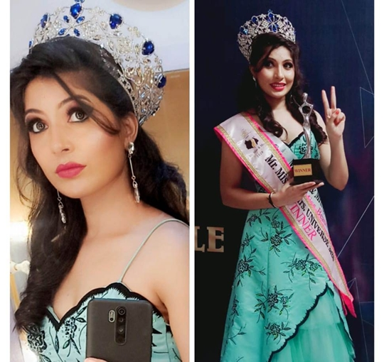 Ashwini Patil Winner of Mrs. Universe 2020  With Subtitle  Mrs. Beautiful 2020 A Pageant By Joil Entertainment