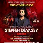 Indywood Talent Hunt to conduct an exclusive workshop by the Musical maestro Stephen Devassy