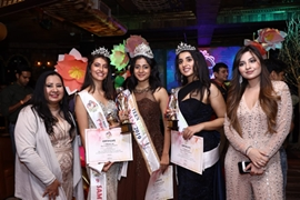 SUSHMITA CROWNED FIRST EVER MISS TEEN INDIA WORLD