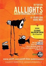 Kochi to host All Lights India International Film Festival; entries invited