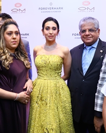 Karisma Kapoor Launches Festive Diamond Collection At OM Jewellers