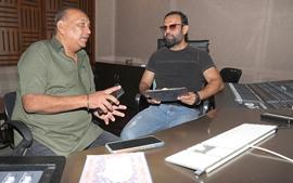 Ajay Jaswal And Apeksha Jaswal – Father – Daughter Duo Of  Apeksha Music Records New Navratri Song With Anuradha Paudwal Under The Music Batonship Of Music Composer DJ Shiezwood
