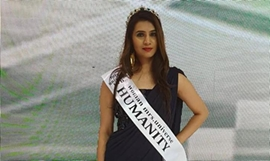 Ruby Arora Bags Title of Mrs Humanity in Guangzhou China