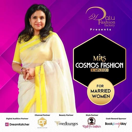 Mrs Cosmos Fashion Icon 2020 Ropes In Kerala-Based Entrepreneur Abhini Sohan Roy As Brand Ambassador