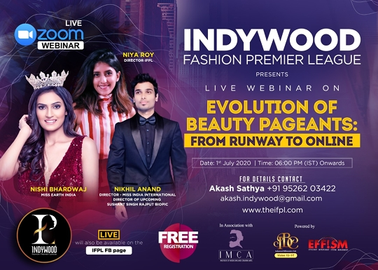 A New Webinar By IFPL On How To Shift Fashion Pageants From Offline To Online Platforms