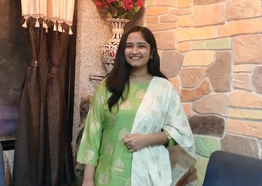 Singer Chandni Vegad Enters Bollywood