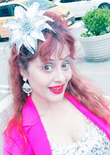 Miss Glamourface World INDIA  Angel Tetarbe  Reached New York For Mission World PEACE
